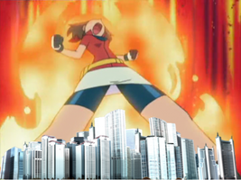 GIANTESS MAY POKEMON 3 by GENETICHERO