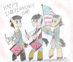 Happy Independence Day 2014 by BrogarArts
