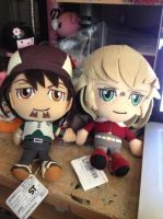 Tiger and bunny Plushies! by Yagami2010
