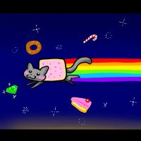 .:Nyan Cat:. by EvilPink95