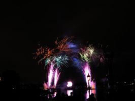 Epcot Illuminations Stock 14 by AreteStock