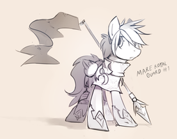 mare pegasus guard by Keponii