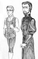 His Lordship and Clerk by JesIdres