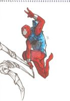 Ben Reilly (COLORED) by DannNights
