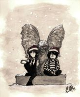Xmas with Creature Feature by LookAliveZombie