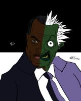 Billy Dee Two-Face by Phantosanucca