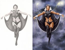 Comishart's Storm - Colors - Side by Side by StacyRaven