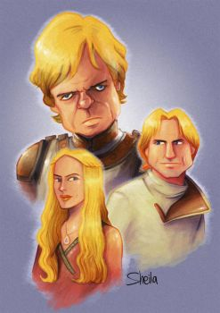The Lannisters by sheilalala