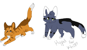 Sapwhisker and Juniperfire Hypokits by SophSouffle