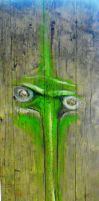 green in wood by bufa