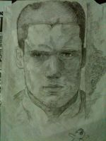 Wentworth Miller Sketch by Ronlau