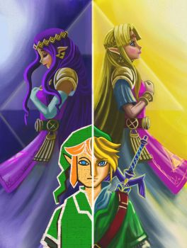 A LINK BETWEEN WORLDS FAN ART by Phoenixboy