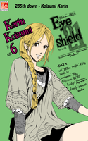 Eyeshield 21 285 - Karin by LuffyeNami