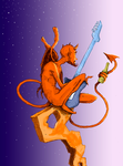 The Devil Played Bass by BrokeDickMedia
