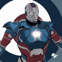 captain iron america by rahmnF