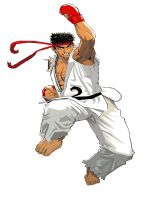 Ryu by kingfret