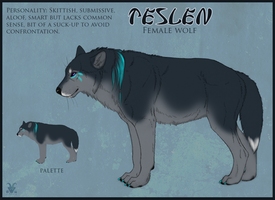 Teslen Reference by umbrafen