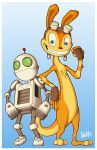 Ottsels And Robots by JosephMayo