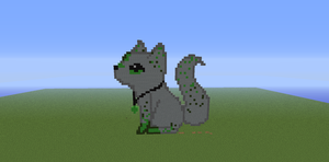 Minecraft Pixel Art (first attempt) by xSilverSymphony