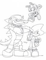 L-A: Team Chaotix by Crystalhedgie