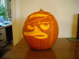 Unlit Perry Pumpkin by Acotas