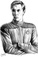 Wesley Crusher by rivertem