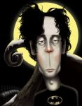 Tim Burton Caricature by VimislikArt