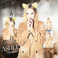 Png pack #37 Ashley Benson by blondeDS