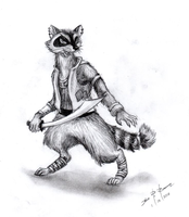 Captain Oslo Z. Ringtail by 1-Renaissance