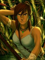 Tomb Raider Reborn with Korra II by SolKorra