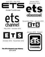 The ETS Channel Logo History 2011-2014 by ETSChannel