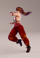 Kasumi 3DS Render 7 by x2gon