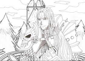 Lich king and his queen by Seto01