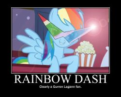 Rainbows can be Epic too by BloodyFatalis