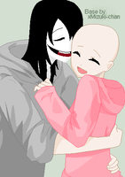 Jeff the Killer x OC OPEN COLLAB 2 by dibandgazbrothersis