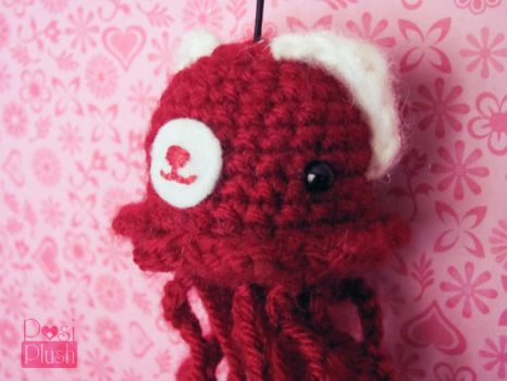 Be My Valentine Tenta-Teddy by PosiPlush