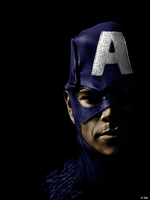 Captain America Real Portrait by cruzaderazn
