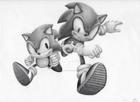 Sonic Generations by PiEqualsThreeOneFour