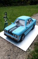 Ford GT Cake by Verusca
