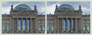 Bundestag Of Germany / Berlin ::: X-3D Stereoscopy by zour