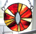 Eye of Sauron suncatcher by dragonsong17