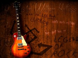 Rip Mr Les Paul by DraconicX