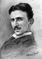 Nikola Tesla by MalachiDesigns