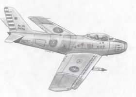 RoCAF F-86 Sabre by taiwaneseprick