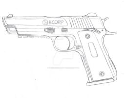 Modernized 1911 Rough Draft by CzechBiohazard