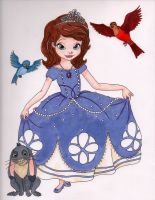 Sofia the first for my daughter by Emdjoker64