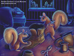 Squirrels by MukArt