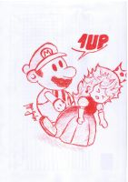 1up by P5YD3X