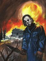 Michael Myers Halloween by adamgeyer