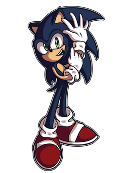 Sonic- gloving up by shadowtheultimate101